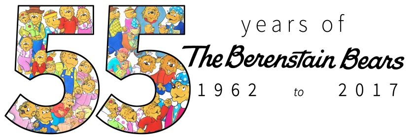 55 years of the Berenstain Bears Header