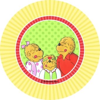 bears plate