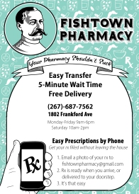 fishtown Pharmacy Flyer option 2
