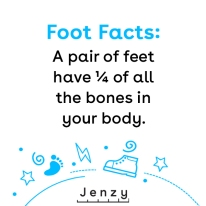 Foot facts template 1